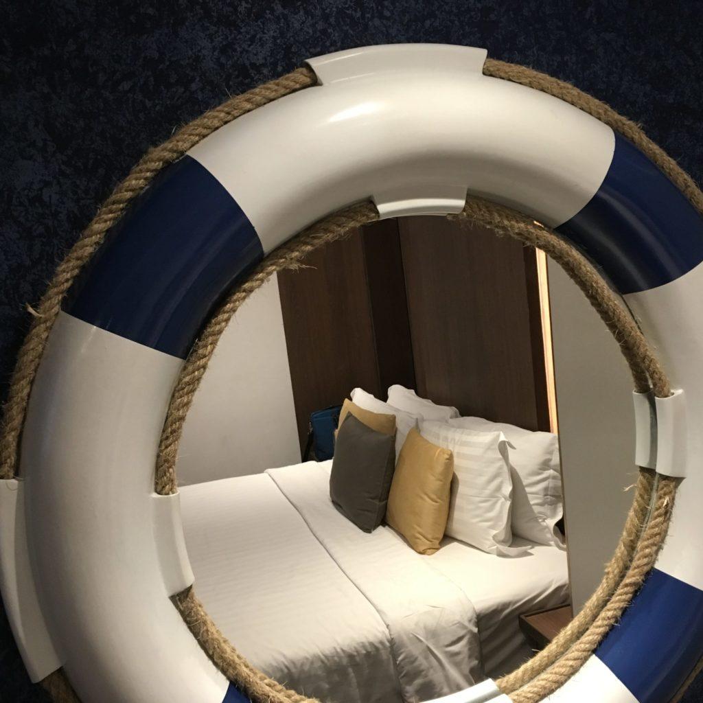 パタヤホテルの部屋