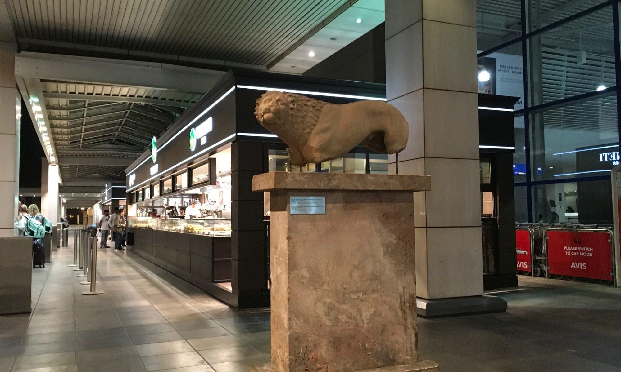 アテネ空港オブジェ