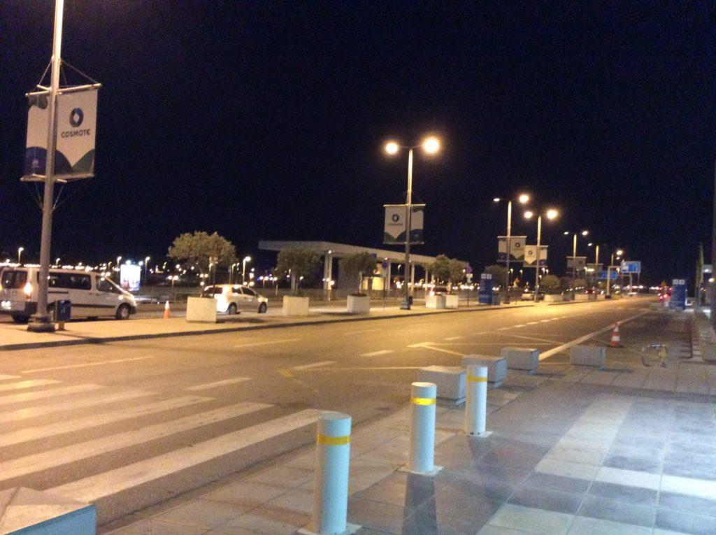 ギリシャ空港外